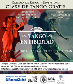 clase de tango 10 de Septiembre