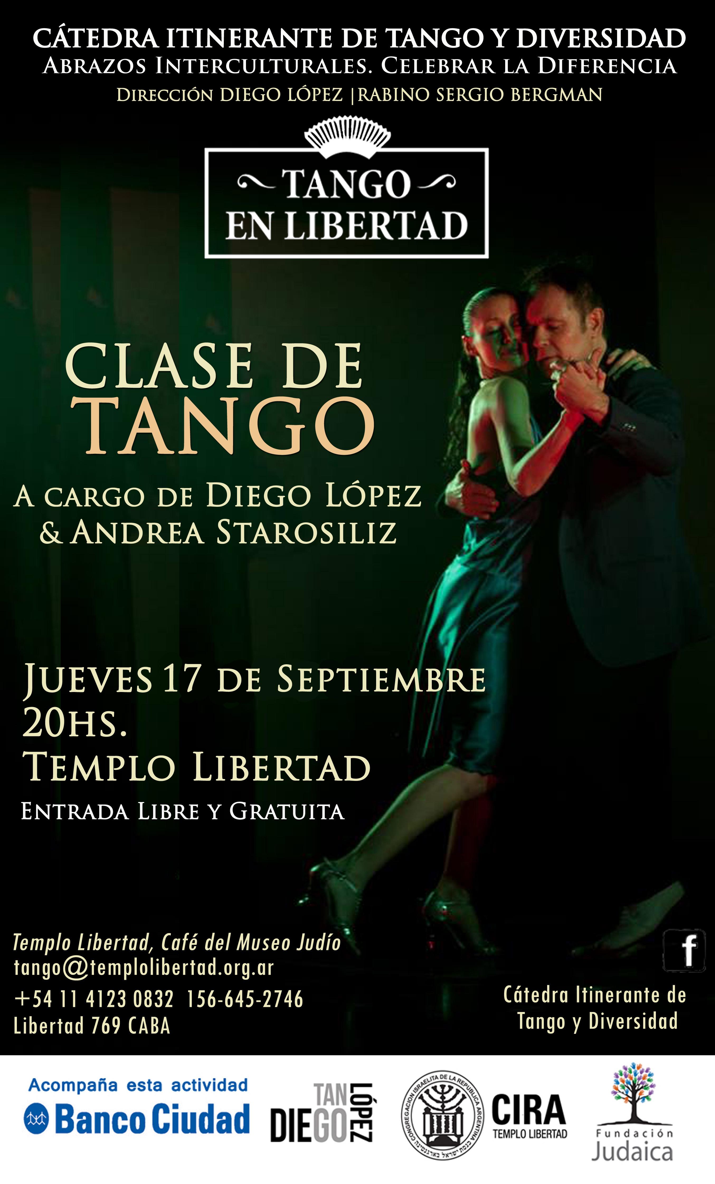 Clase de tango en libertad 17 Sept.