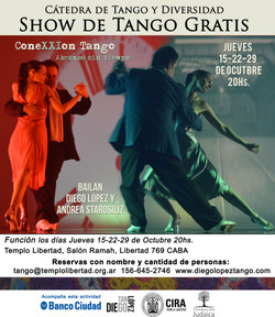 show de tango en libertad Octubre