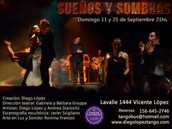 tango teatro. 11 y 25 de septiembre