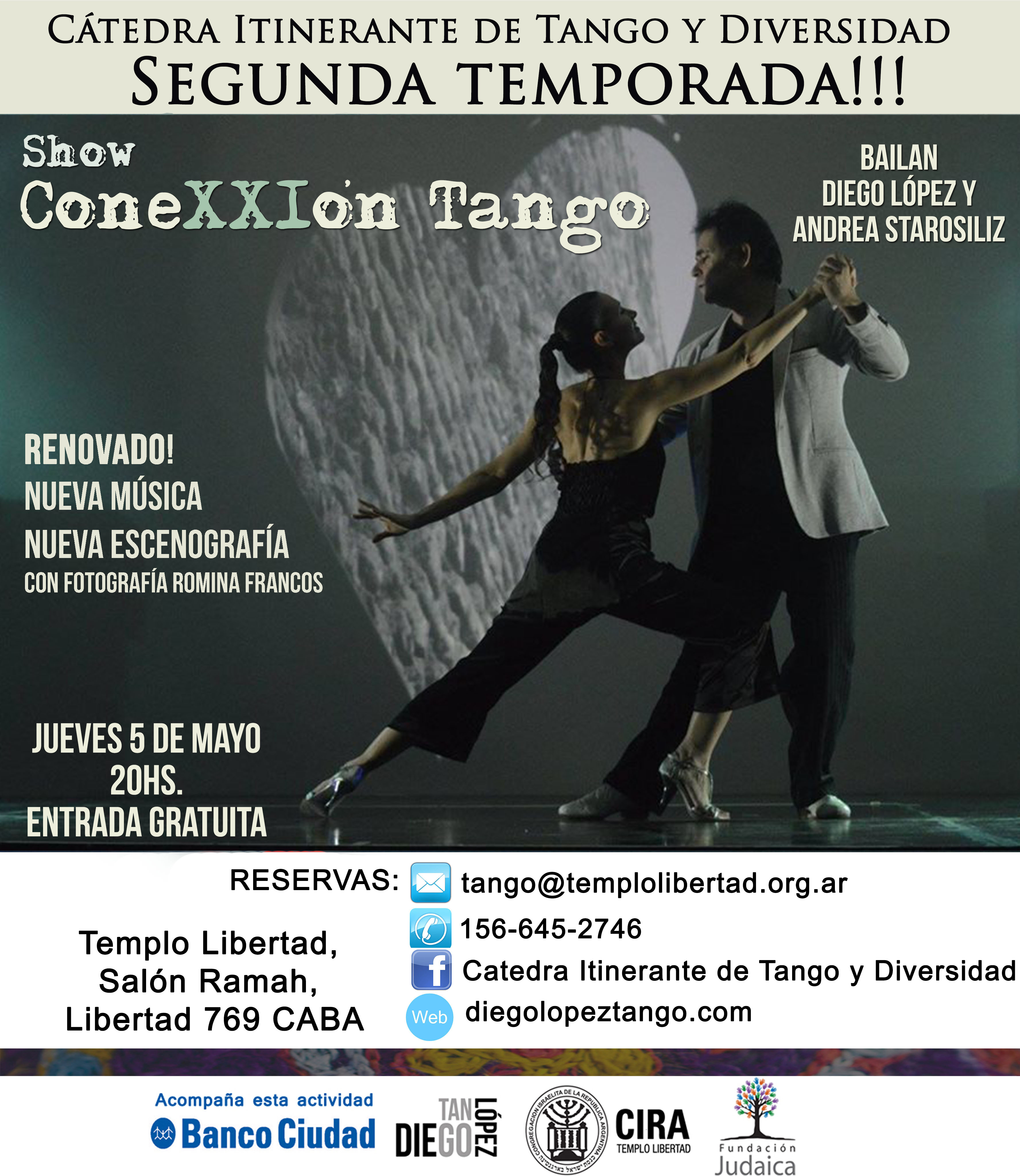 ConeXXIon tango 5 de Mayo