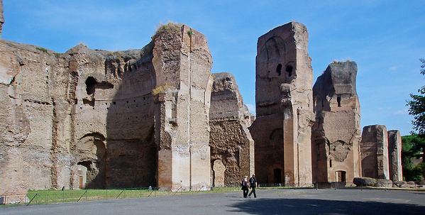 080919 Rome Baths Of Caracalla Terme Di