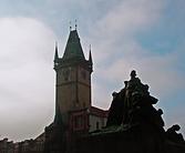 081031 Prague Old Town Hall Jan Hus Memo