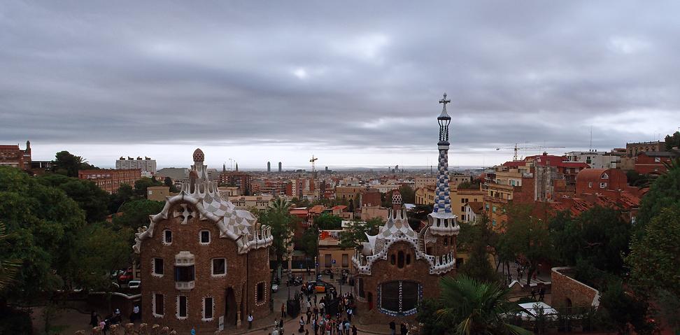 081025 Barcelona Park Guell Antoni Gaudi