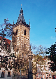 081031 Prague New Town Hall Novomestska