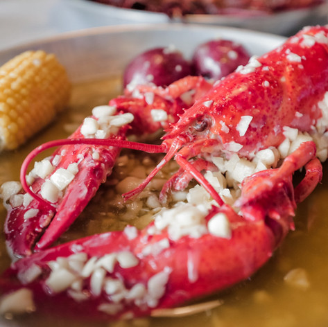 Garlic butter lobster