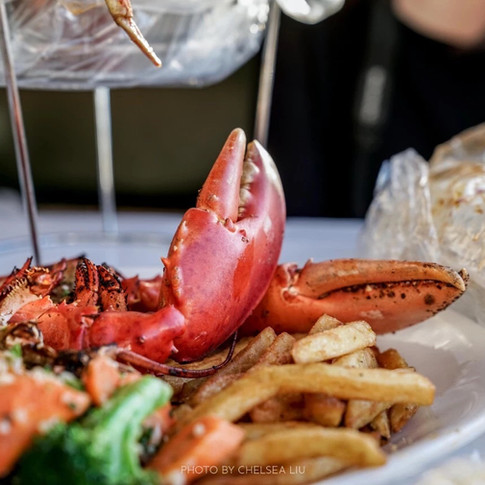 Garlic Roast Lobster