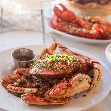 Garlic Roast Crab