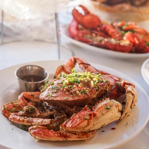 Garlic Roast Crab