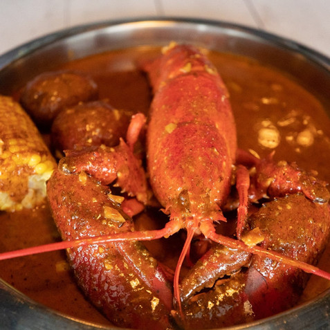 Hot Spicy lobster