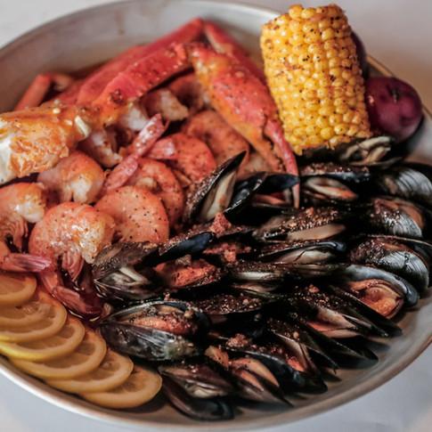 Cajun Bag of seafood