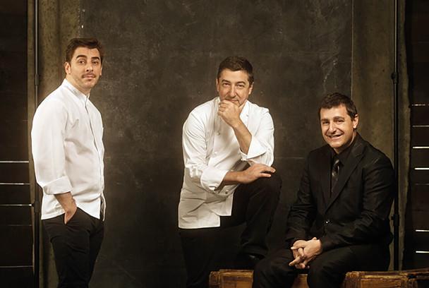 Hermanos Roca: Jordi, Joan y Josep