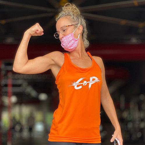 Orange Womens dri-fit tanks
