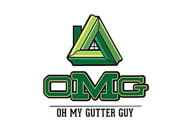 Oh My Gutter Guy Logo Concept