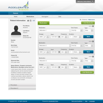 AV Patient Screen