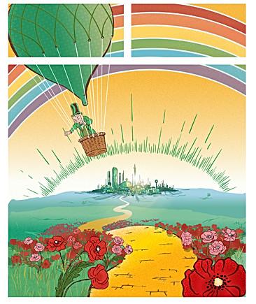 End of Adventure - Emerald City