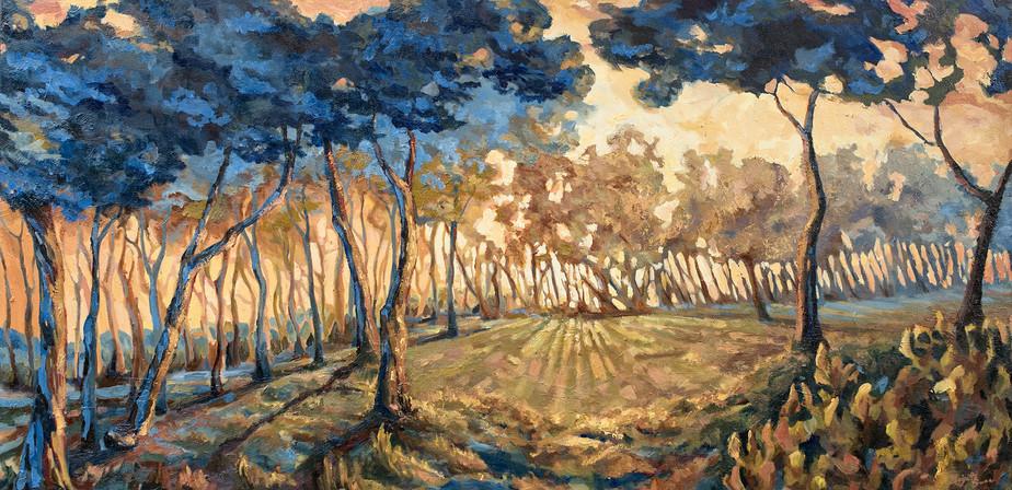 Landscape At Dusk - Commission 2018