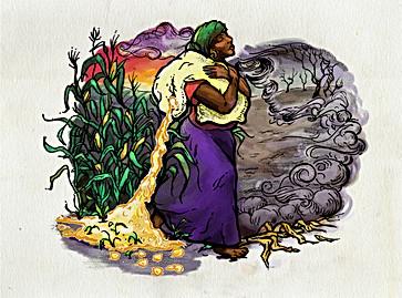 Croploss Illustration