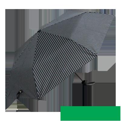 Classic striped umbrella