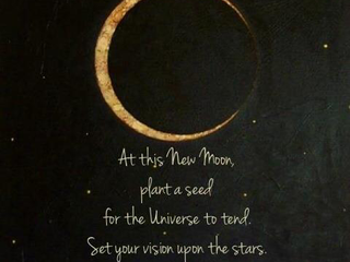 New Moon Blessing from Norse Warlock