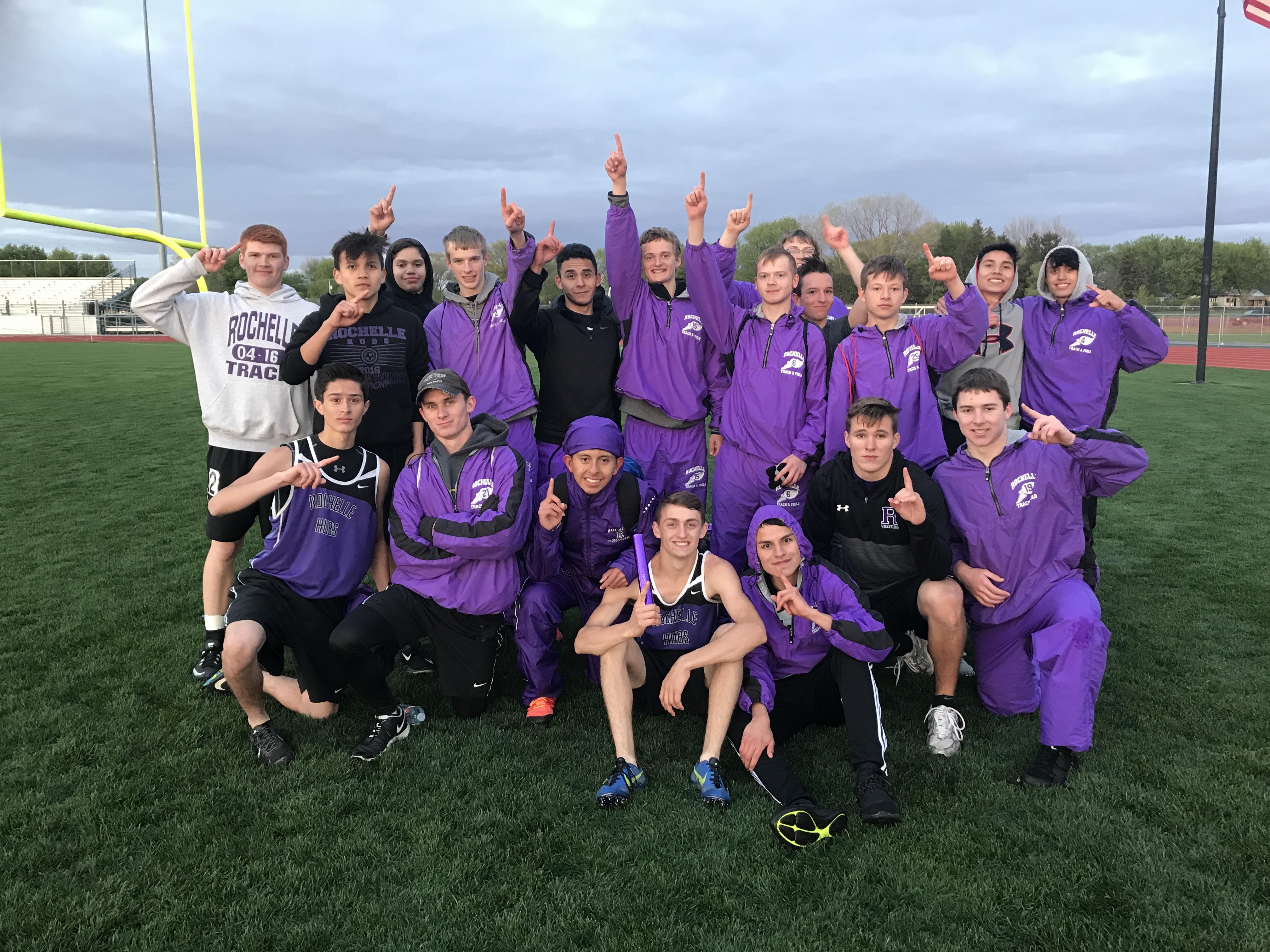 Rochelle track teams win Ogle County Meet | Rochelle Hubs Track & Field -  RTHS