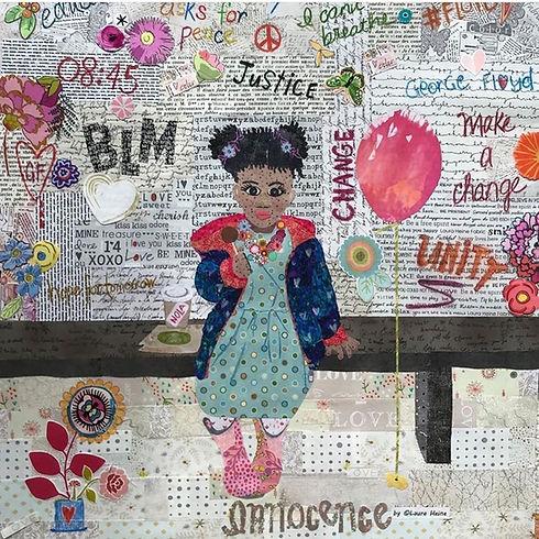 Innocence Quilt by Laura Heine