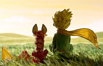 Petit prince et le renard