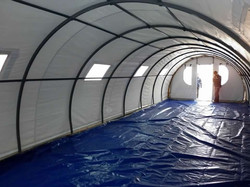 Hangar impermeable