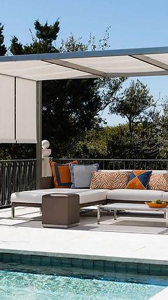 techo cubierta cubierta pergola terraza piscna jardin