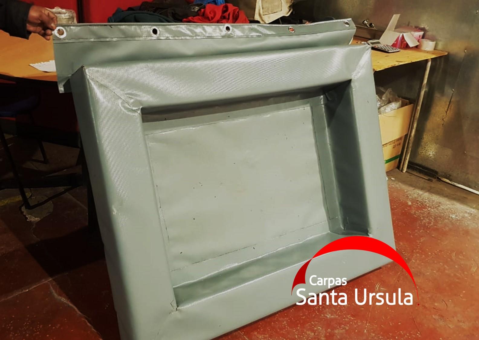 Piscina - Contenedor ecológico de deshechos líquidos maquinaria