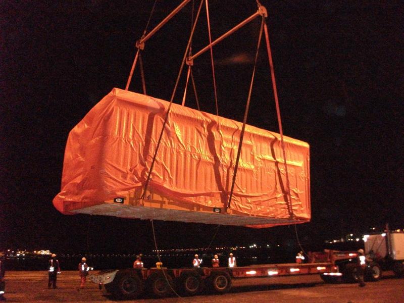 Cobertura Container marítimo