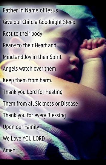 Children's Bedtime Prayer