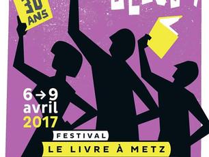 Festival Le livre à Metz 2017