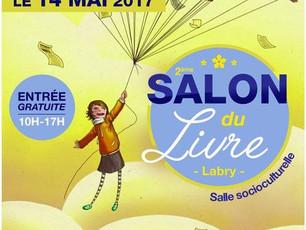Salon du livre à Labry, dimanche 14 mai