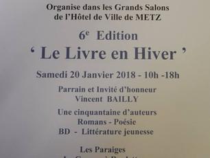 Le Livre en Hiver à Metz.