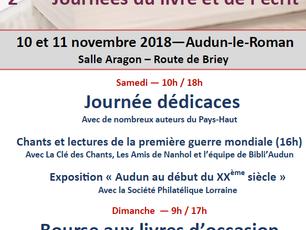Journées du livre à Audun-le-Roman