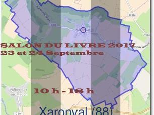 Salon du livre à Xaronval/Vosges