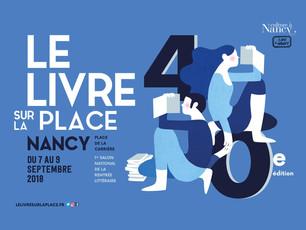 40° édition du Livre sur la Place - NANCY