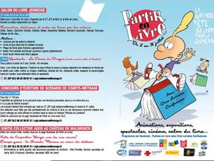 Partir en Livre 2019 : Salon du livre jeunesse à Labry le 21 juillet.