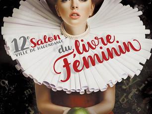 Salon du livre féminin à Hagondange, les 25 et 26 février 2017