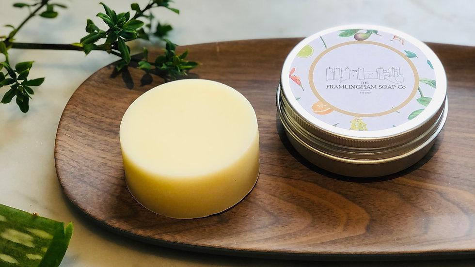 Aloe & Cucumber Travel Soap in Tin