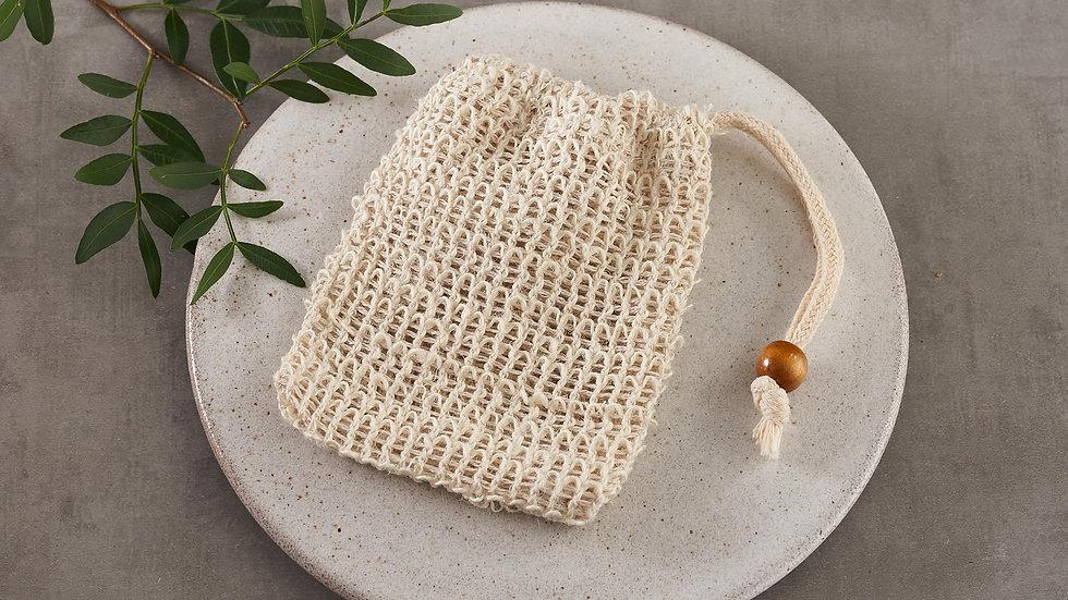 Natural Sisal Soap Bag / Exfoliator
