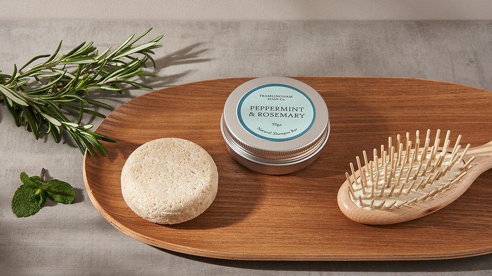 Peppermint & Rosemary Shampoo Bar