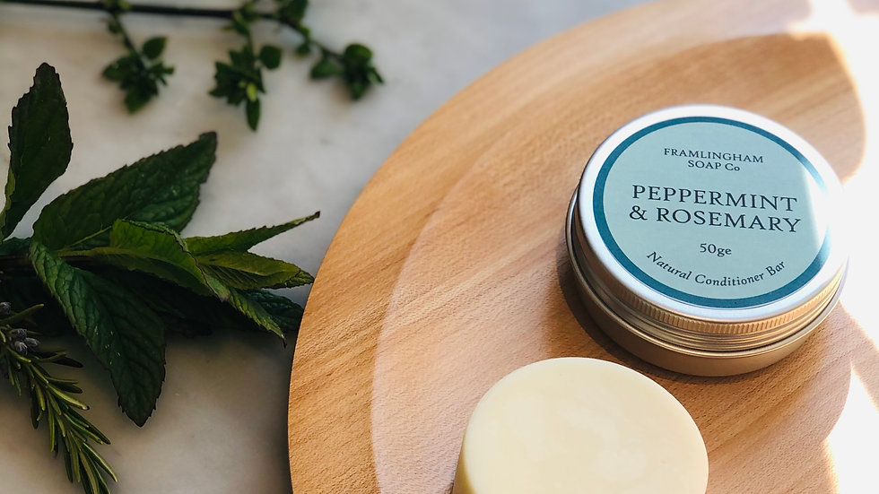 Peppermint & Rosemary Conditioner Bar