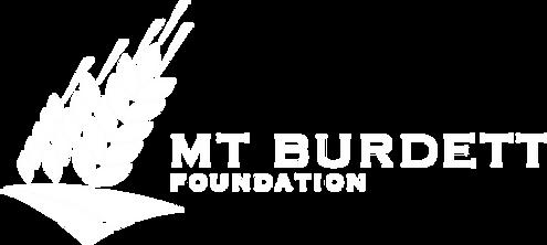 Mt Burdett Foundation Logo White.png