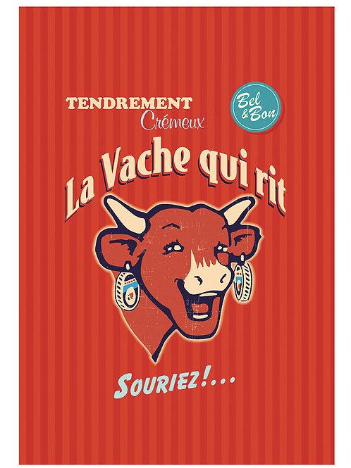 Copie de Torchon Vache qui rit