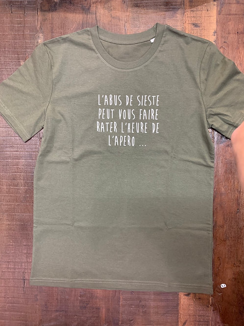 T-shirt homme L'ABUS DE SIESTE