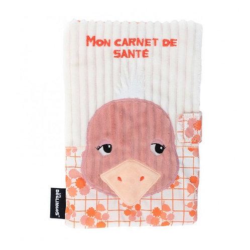 Protège carnet de santé Pomelos l'autruche