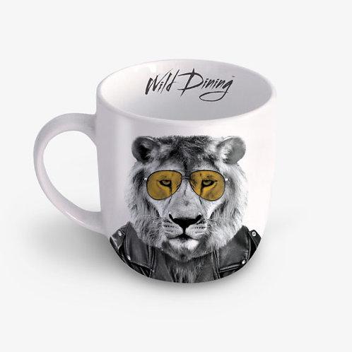 Mug wild dining Lary lion Just Mustard