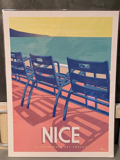 Affiche Marcel NICE 30x40 cm
